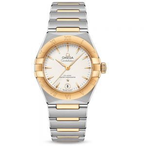 OMEGA Constellation Manhattan 29mm acero y oro amarillo automático