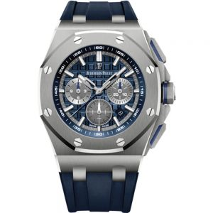 Audemars Piguet Royal Oak Offshore cronógrafo 42mm titanio caucho azul