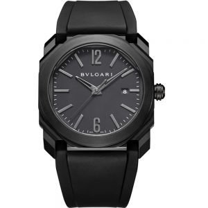Bulgari Octo Ultranero DLC negro 41 mm