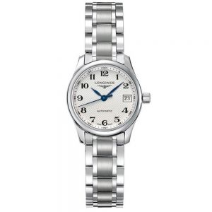 Longines Master Collection 28mm esfera blanca