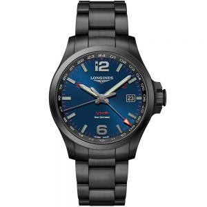 Longines Conquest VHP PVD negro 43 mm Cuarzo