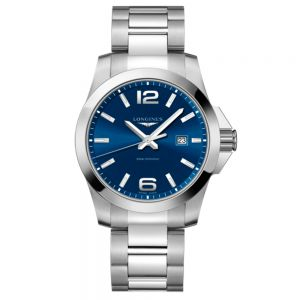 Longines Conquest 43mm esfera azul