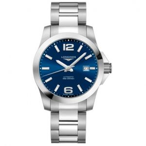 Longines Conquest azul