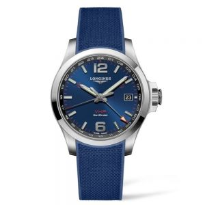 Longines Conquest V.H.P. GMT Blue