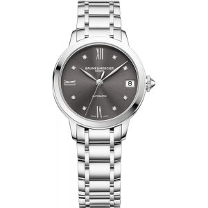 Baume & Mercier Classima Lady 31mm esfera antracita y brillantes