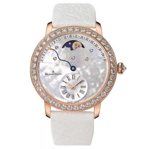 Blancpain Women Calendario Retrógado Oro rojo 18 quilates con diamantes 36 mm Automático