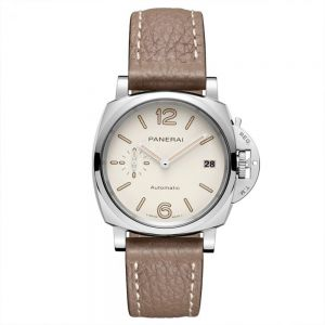 Panerai Luminor Due 38mm esfera blanca automático