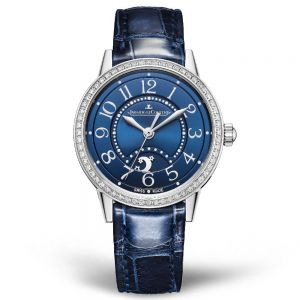 Jaeger-LeCoultre Rendez-Vous Night & Day Small Acero y Esfera Azul