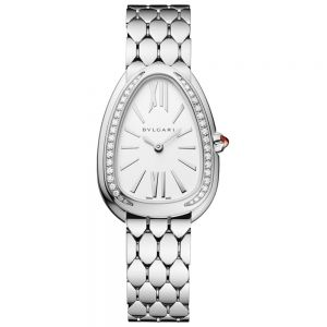 Bulgari Serpenti Seduttori Acero y Brillantes 33mm