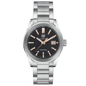 TAG Heuer Carrera Lady Calibre 9 36 mm Cuarzo Esfera Negra