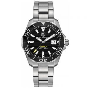 TAG Heuer Aquaracer Calibre 5 41 mm Esfera Negra