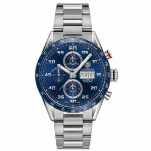 TAG Heuer Carrera Calibre 16 43mm Chrono Esfera Azul
