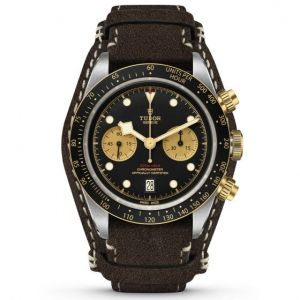 Tudor Black Bay Chrono S&G cuero