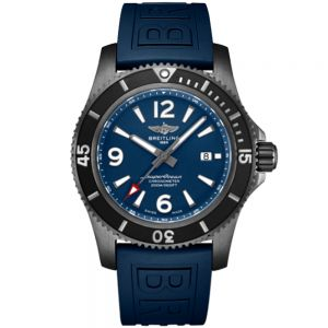Breitling Superocean  II 46mm Blacksteel Blue