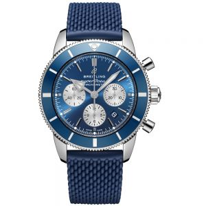 Breitling Superocean heritage B01 Chronograph azul 44mm
