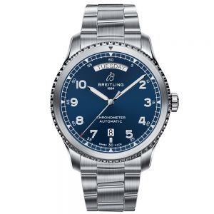 Breitling Aviator 8 Automatic Day&Date 41 mm azul