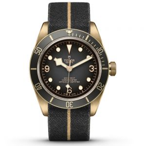 Tudor Black Bay Bronze tejido
