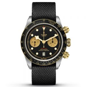Tudor Black Bay Chrono S&G tejido