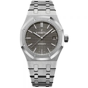Audemars Piguet Royal Oak 37 mm esfera gris rutenio