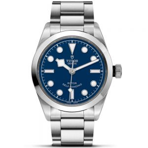 Tudor Black Bay 36mm acero esfera azul