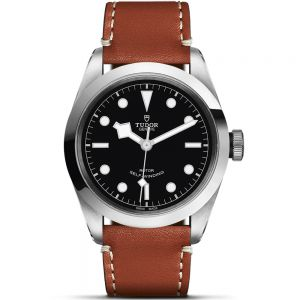 Tudor Black Bay 41mm cuero esfera negra
