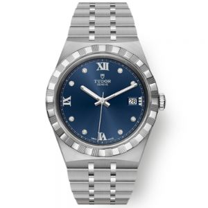 Tudor Royal Esfera Azul y diamantes 34 mm