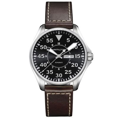 Hamilton Khaki Aviation Pilot Quartz Acero 42 mm