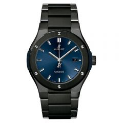 Hublot Classic Fusion Ceramic Integrated Blue Bracelet 42 mm