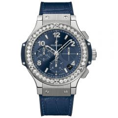 Hublot Big Bang Steel Blue Diamonds