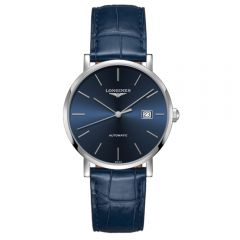 Longines Elegant Collection 39mm acero y piel