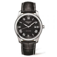 Longines Master Collection acero y piel 40mm