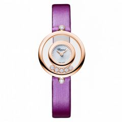 Chopard Happy Diamonds Icons 26 mm Oro Rosa y Diamantes
