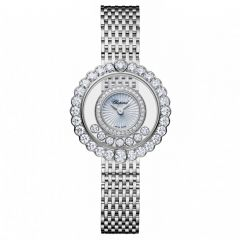 Chopard Happy Diamonds Icons 26 mm Oro Blanco y Diamantes