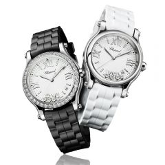 Chopard Happy Sport 36 mm Quartz Acero y Diamantes