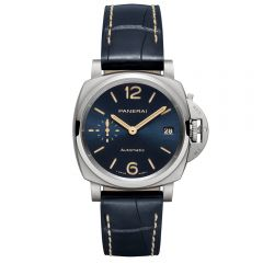 Panerai Luminor Due 38 mm titanio esfera azul