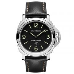Panerai Luminor Base Logo 3 Days Acciaio Cuerda Manual
