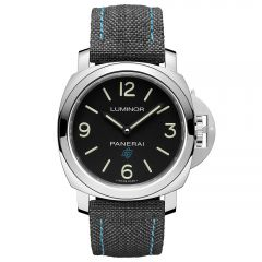 Panerai Luminor Base Logo 3 Days Acciaio Cuerda Manual Tela
