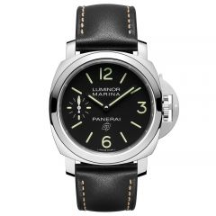 Panerai Luminor Marina Logo 3 Days Acciaio Cuerda Manual