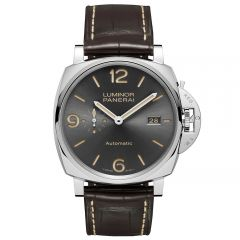 Panerai Luminor Due 3 Days Automático Acciacio 45 mm Antracita