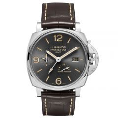 Panerai Luminor Due 3 Days GMT Power Reserve Automático Acciacio 45 mm