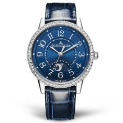 Jaeger LeCoultre Rendez-Vous Night & Day Medium Acero y Esfera Azul