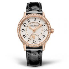 Jaeger LeCoultre Rendez-Vous Night & Day Oro Rosa con diamantes 29 mm Automático