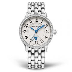 Jaeger LeCoultre Rendez-Vous Night & Day Small Acero y Bisel de brillantes Automatic
