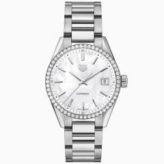 TAG Heuer Carrera Lady 36 mm Acero y Brillantes