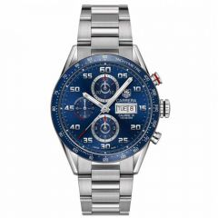 TAG Heuer Carrera Calibre 16 43mm Chrono Esfera Azul - CV2A1VBA0738