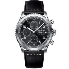 Breitling Navitimer 8 Chronograph acero y piel 43 mm