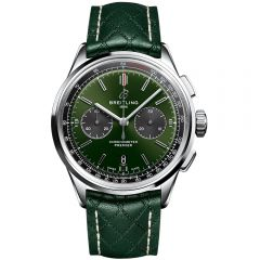 Breitling Premier B01 crono Bentley British racing green