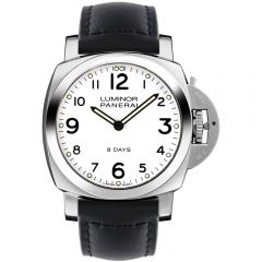 Panerai Luminor 8 Days 44mm esfera blanca