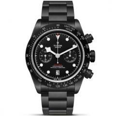 reloj hombre Tudor Black Bay Chrono Dark edicion limitada All Blacks