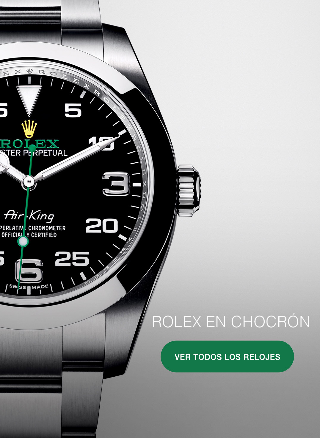 ROLEX AIR KING - CHOCRÓN JOYEROS